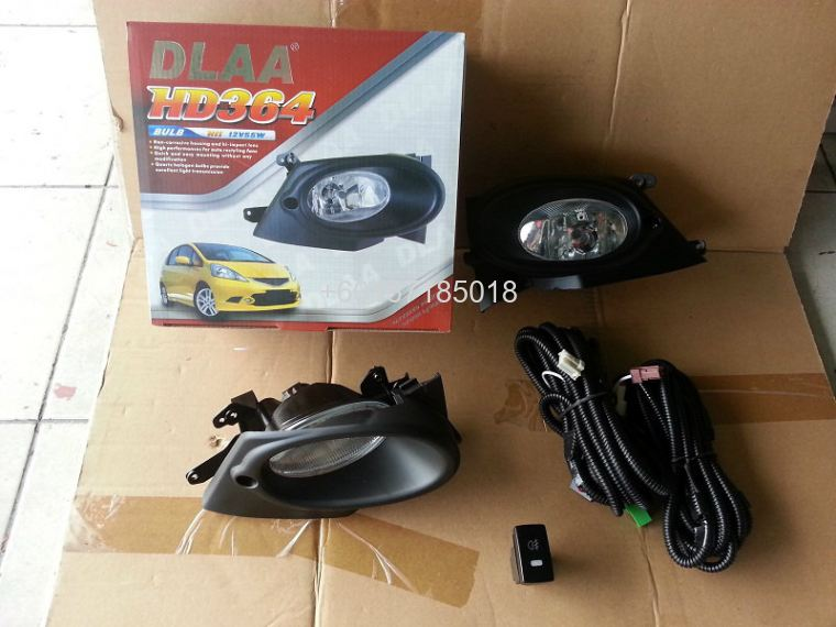 HONDA JAZZ FOGLIGHT OEM WITH SWITCHES