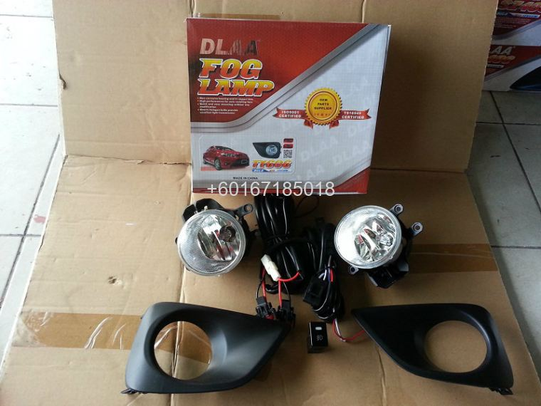 TOYOTA VIOS FOGLIGHT OEM WITH SWITCHES