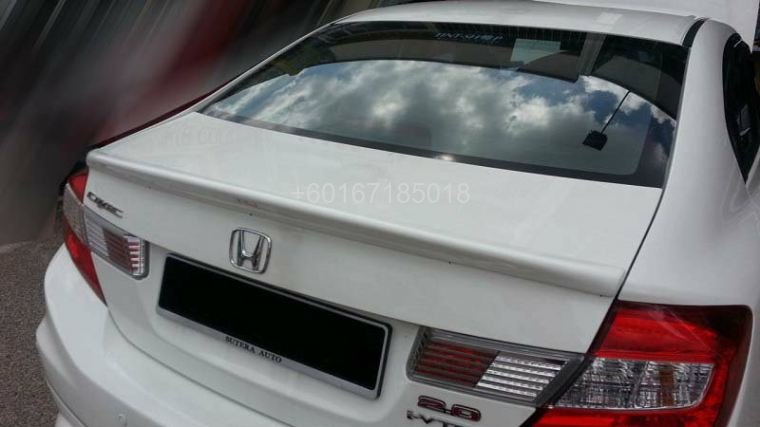 2012 FB HONDA CIVIC SPOILER DUCK TAIL LIP