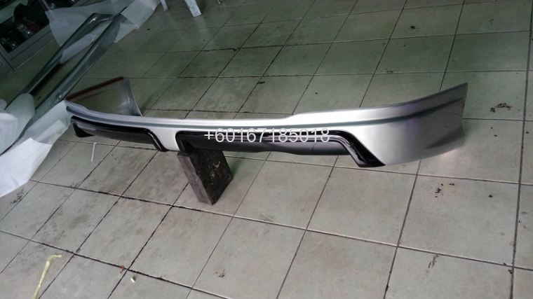 honda civic 2013 fb mugen bodykit mugen bumper rear lip skir