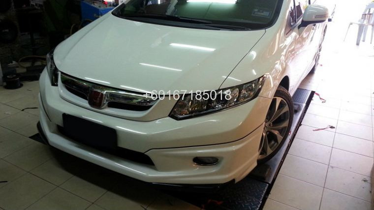 honda civic fb mugen bodykit 2013