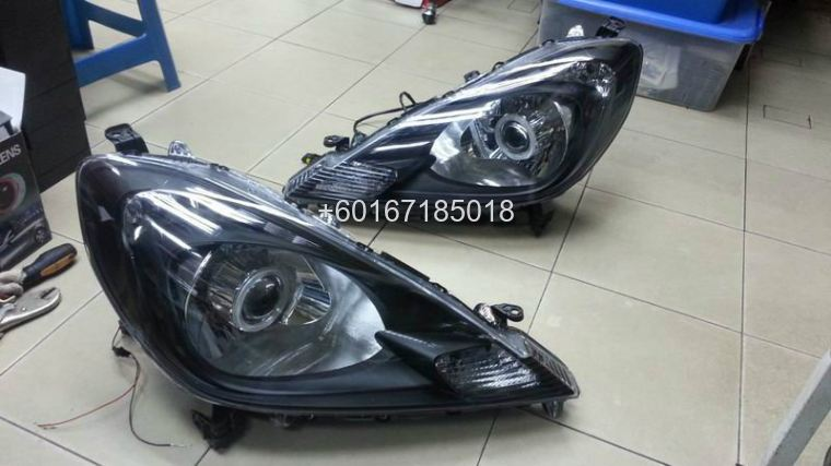 2013 honda jazz ge rs headlamp projector