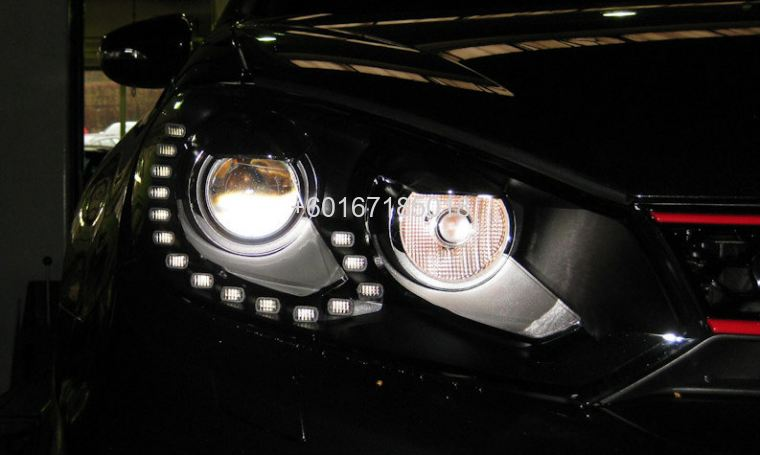 volkswagen golf mk6 1.4 headlight led  r