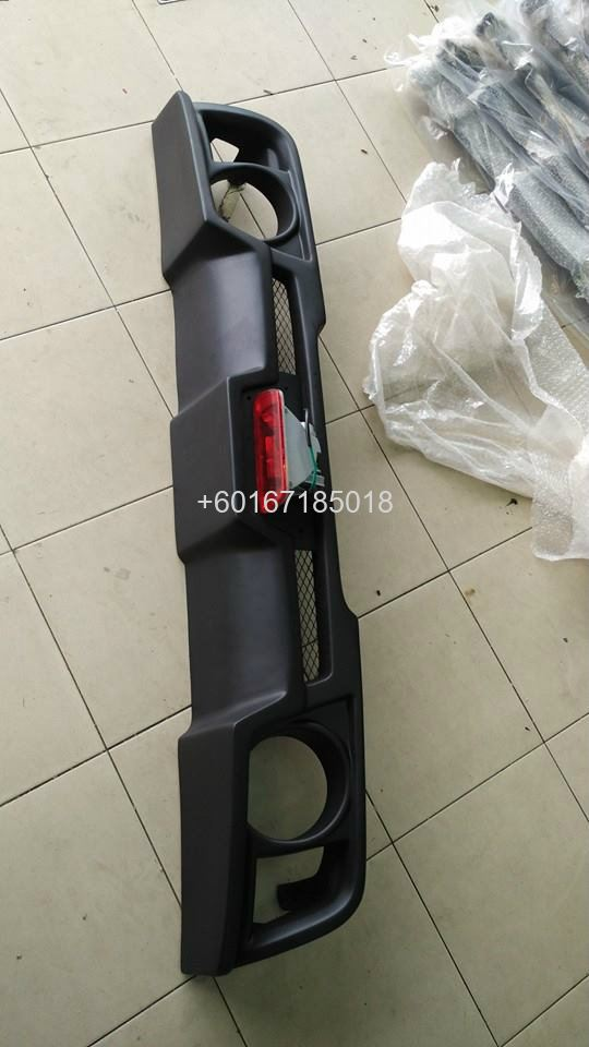 suzuki swift bumper rear lip monster new