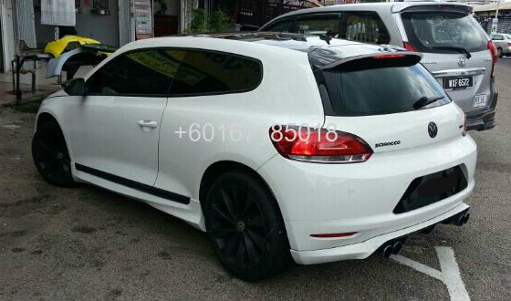 volkswagen scirocco bodykit oettinger pu johor bahru jb. Black Bedroom Furniture Sets. Home Design Ideas