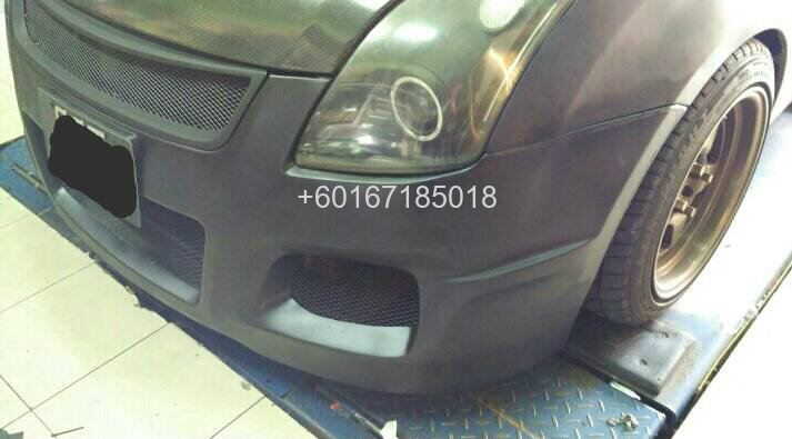 suzuki swift tm square bumper