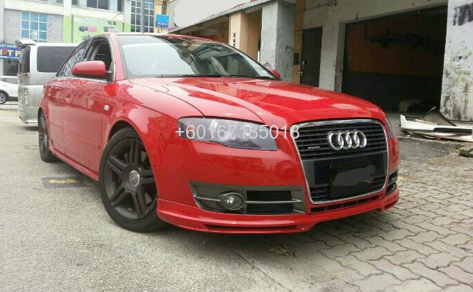 audi a4 b7 abt bodykit bumper lip abt johor bahru jb. Black Bedroom Furniture Sets. Home Design Ideas
