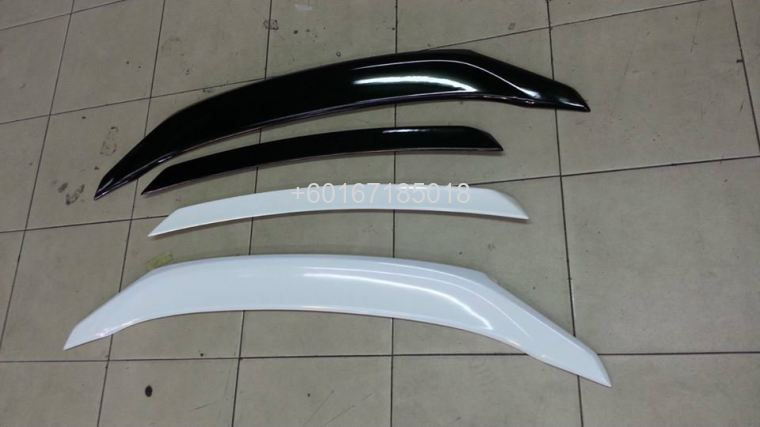 2016 honda civic fc rs spoiler duck tail abs