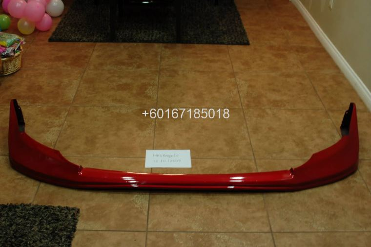 mitsubishi evo x jun bumper front lip abs new