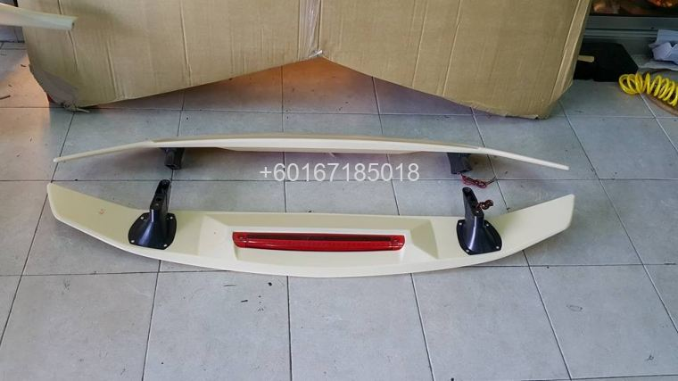 2017 honda civic fc si spoiler abs new