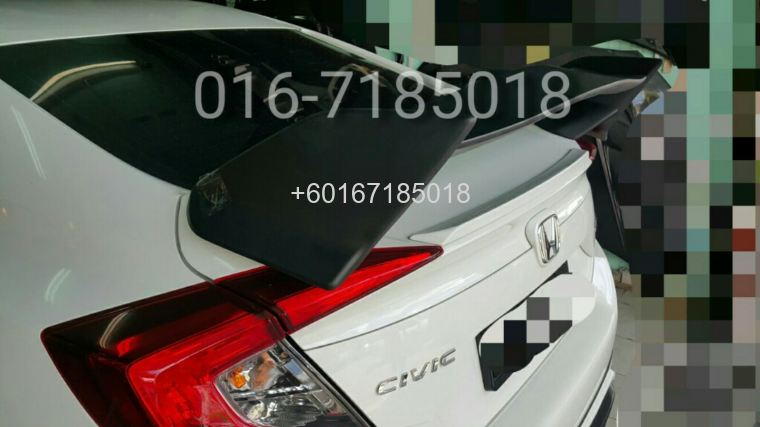 2016 Honda civic fc type r spoiler new