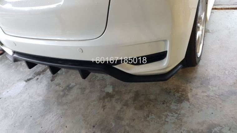 2017 2018 honda jazz gk rear Diffuser new