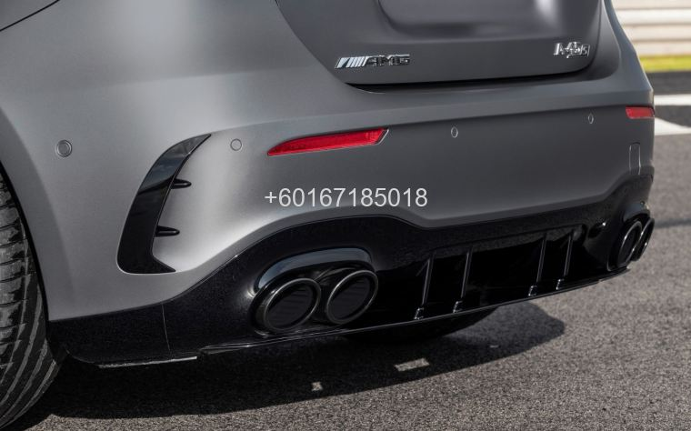 mercedes benz w177 a class a45 rear diffuser for w177 replac