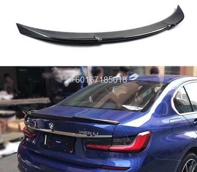 bmw 3 series g20 spoiler cs style add on upgrade performance