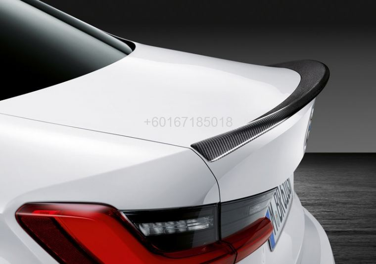 bmw 3 series g20 spoiler ac style add on upgrade performance