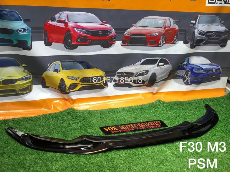 f30 psm m3 front lipdiffuser fit for bmw f30 m3 pp bodykit r