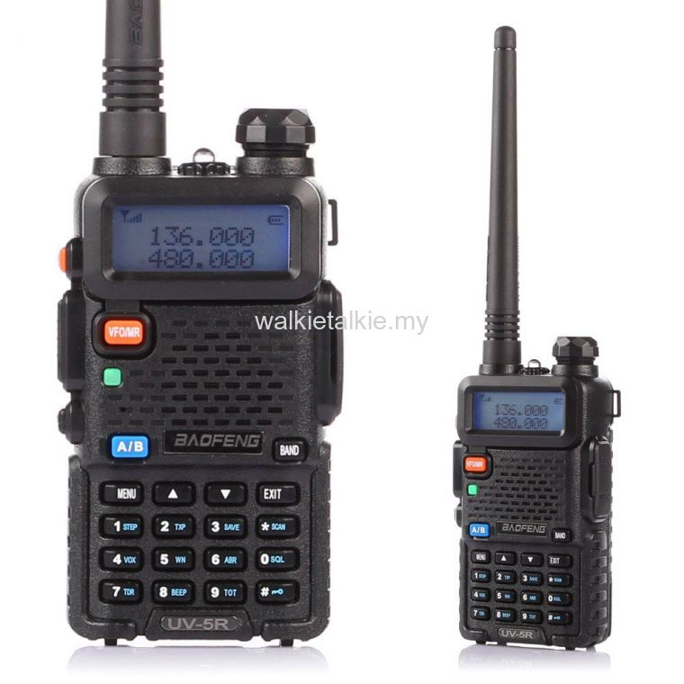 Baofeng UV-5R Dual Band UHF VHF Walkie Talkie 5Watt