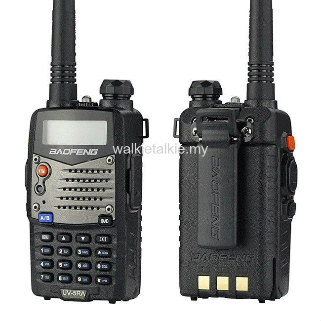 Baofeng UV-5RA Dual Band UHF VHF Walkie Talkie