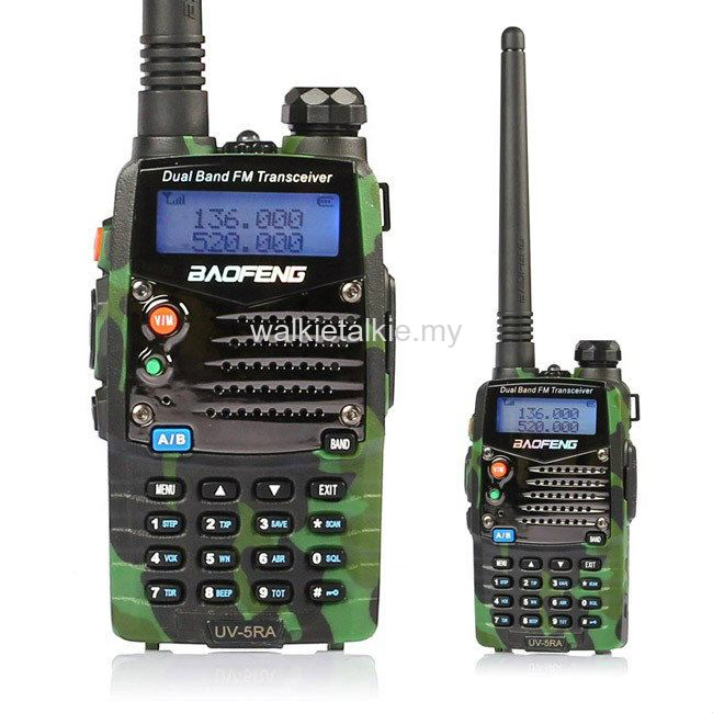 Baofeng UV-5RA Dual Band UHF VHF Walkie Talkie *Camouflage*
