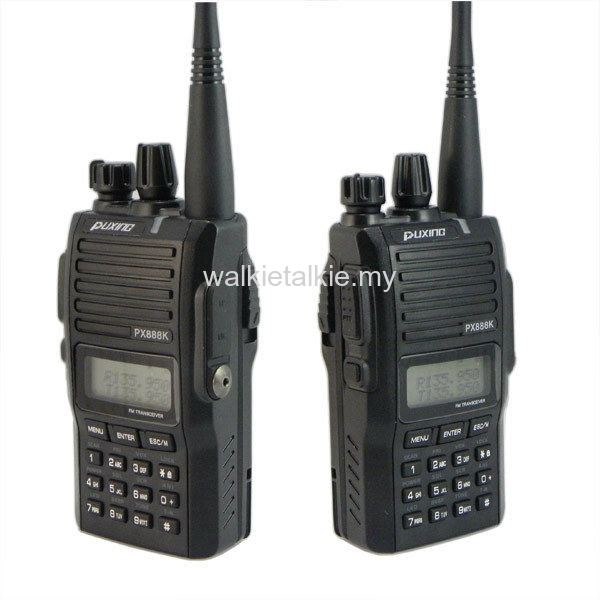 Puxing PX-888K Dual Band UHF VHF Walkie Talkie