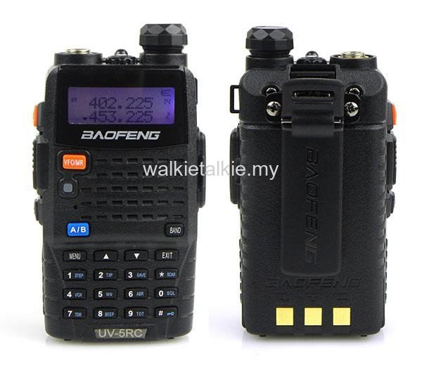 Baofeng UV-5RC Dual Band UHF VHF Walkie Talkie