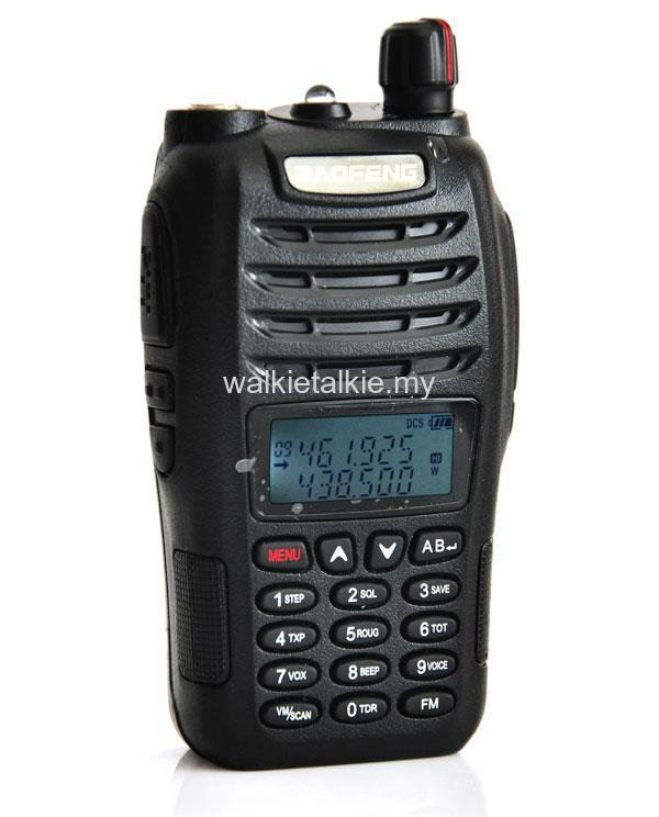 Baofeng UV-B6 Dual Band UHF VHF Walkie Talkie