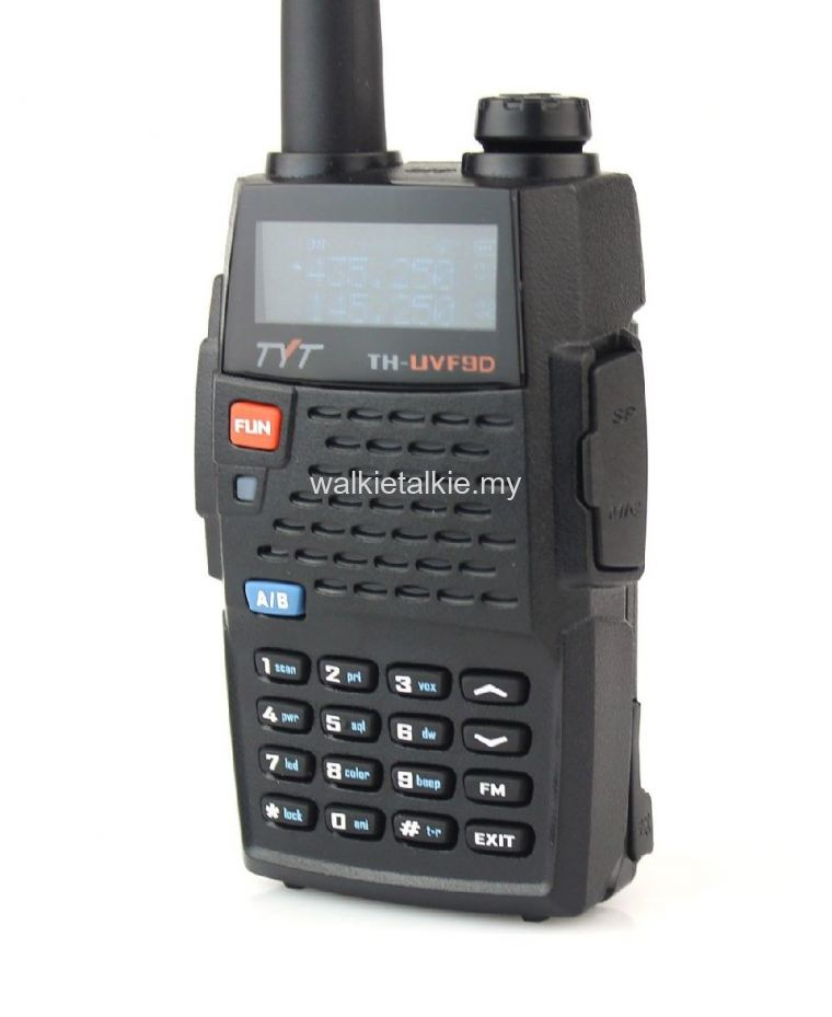 TYT TH-UVF9D Quad Band UHF VHF Walkie Talkie