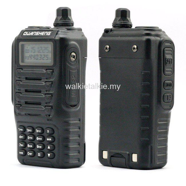 Quansheng TG-UV2 Dual Band UHF VHF Walkie Talkie