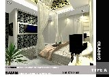 Design of the bedroom . Horizon hill . The golf east . interior desing johor bahru