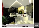 kempas indah . living hall design. interior design