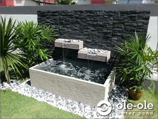 Fish pond design johor fish pond design for Koi pond design malaysia
