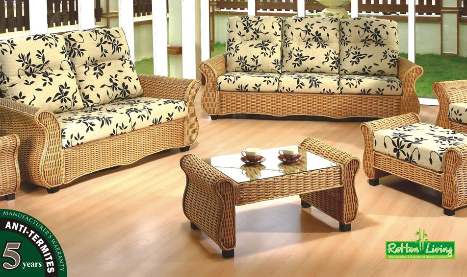 Rattan sofa set malaysia home the honoroak for Sofa chair malaysia
