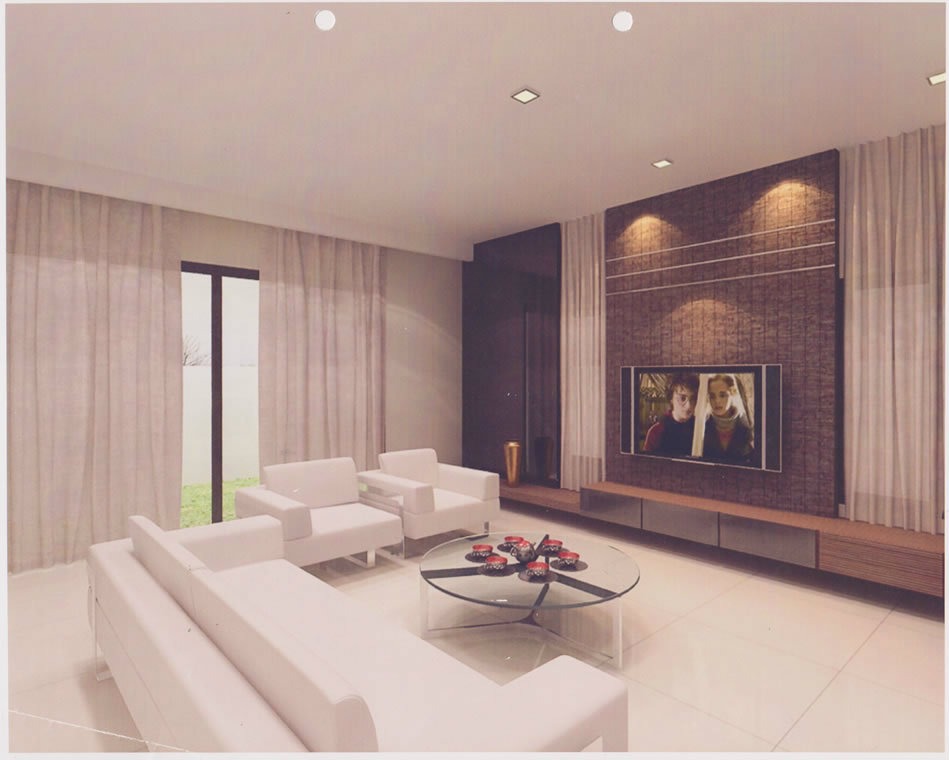 Simple living room design ideas malaysia for Minimalist house design in malaysia