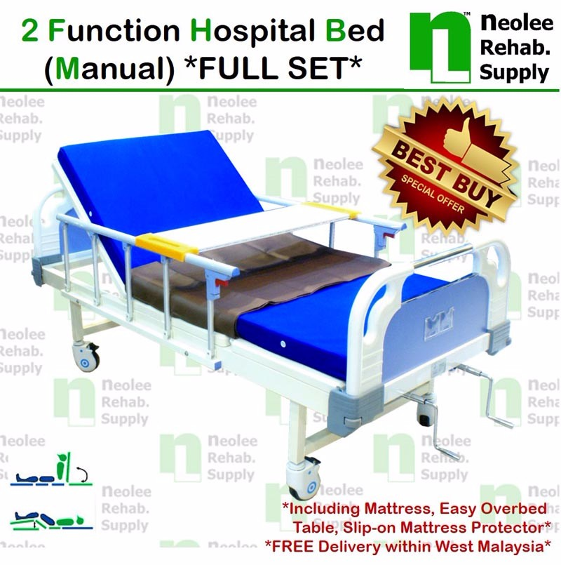 Buy NL303D Hospital Bed 3 Functions Electric Powered