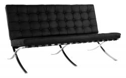 Barcelona Double-Seater (Black)