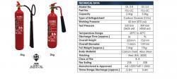 Fire Extinguisher Spec - CO2