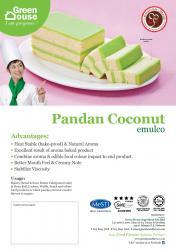 Pandan Coconut Emulco
