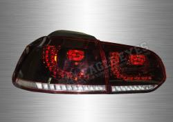 VW Golf 6 LED Sequential Signal Taillamp (GTI Style) 10-14