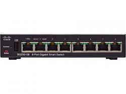 Cisco SG250-08-K9-UK: 8-Port Gigabit Smart Switch