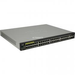 Cisco SG350X-48P-K9-UK: 48-port Gigabit POE Stackable Switch