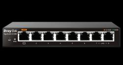 DrayTek VigorSwitch G1080: 8-Port Smart Lite Managed Gigabit Switch