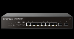 DrayTek VigorSwitch P1092: 10-Port Smart Lite Managed Gigabit PoE+ Switch