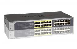 NETGEAR JGS524P: 24 port Gigabit Ethernet Smart Managed Plus Switches with 12 port PoE