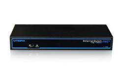 UTEPO UTP3-SW08-TP120-A1: 8 Ports PoE Ethernet Switch(Two Gigabit Uplinks)