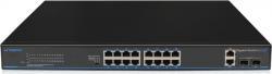 UTEPO UTP3-GSW1604TS-P200: 16 Ports Gigabit PoE Switch