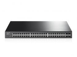 TP LINK T1600G-52PS(TL-SG2452P):JetStream 48-Port Gigabit Smart PoE+ with 4 SFP Slots Switch