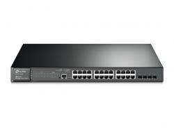 TP-LINK T2600G-28MPS(TL-SG3424P): JetStream 24-Port Gigabit L2 Managed  PoE+ with 4 SFP Slots Switch