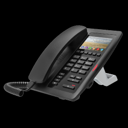 FANVIL H5 Black : Black Color Hotel IP Phone With Color Screen