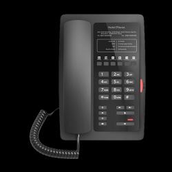 FANVIL H3 Black - Black Color Hotel IP Phone