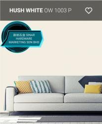 OW1003P HUSH WHITE